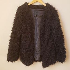 Forever 21 furry coat